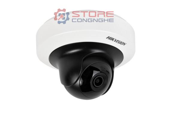 Camera IP Dome hồng ngoại Wifi 4.0 Megapixel HIKVISION DS-2CD2F42FWD-IWS